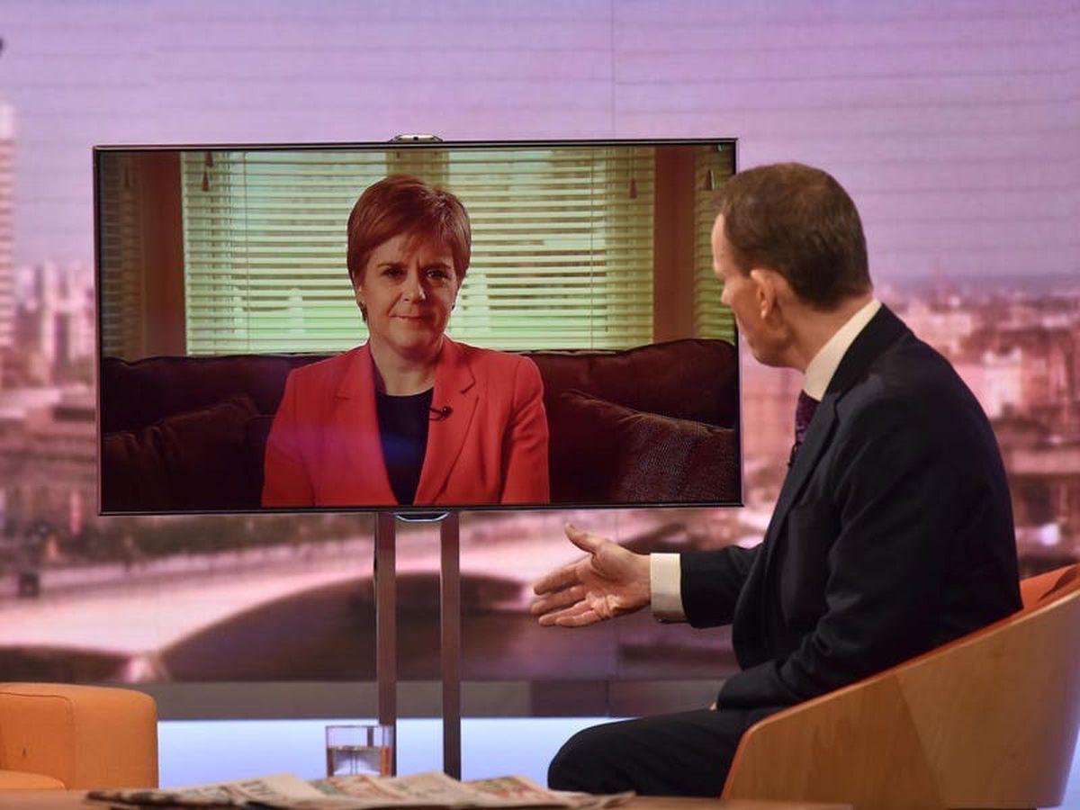 Sturgeon says Johnson is 'frightened of democracy'