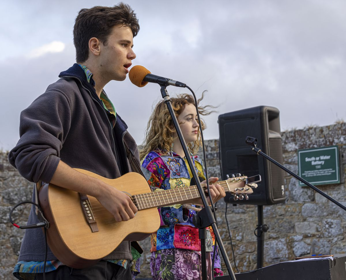 The crowd at last week's KPMG Castle Nights were entertained by a couple of young performers with strong musical pedigrees. Sam Wilkinson was the winner of ITV's The Voice Kids 2019 while his girlfriend, Bee Bran, is the daughter of Tim, who was in the band Dreadzone, which had hit singles, and has worked recently behind the scenes with Natalie Imbruglia and Imelda May, having worked previously with Sir Paul McCartney. (Picture by Chris George Photography)