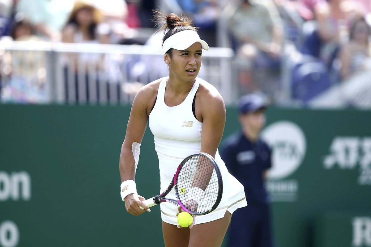 Miss Dependable: Heather Watson has now been involved in the Fed Cup for 10 years. (Picture by Charlie Crowhurst/Getty Images for LTA, 26999207)