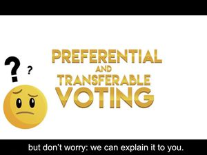 The States has commissioned a locally produced video to show people what to do in the island-wide voting referendum.