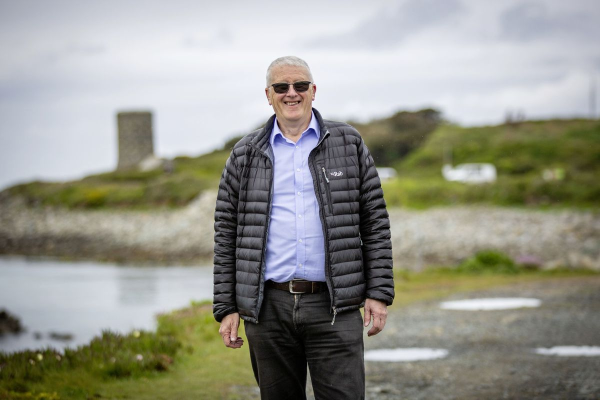 For the first time family groups are being invited to take part in this year's Saffery Rotary Walk, which is on Saturday 5 June. Families are not expected to attempt the full 39-mile route and can join the round-island walk from noon at Chouet car park or from Bordeaux at either noon or 2pm. Pictured is Simon Milsted from the organising committee. (29520496)
