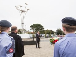 Island remembers allied aircrew