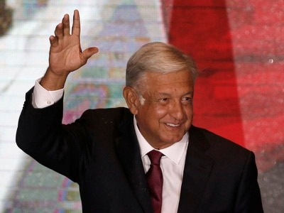 Mexico's election victor Lopez Obrador reaches out to Trump