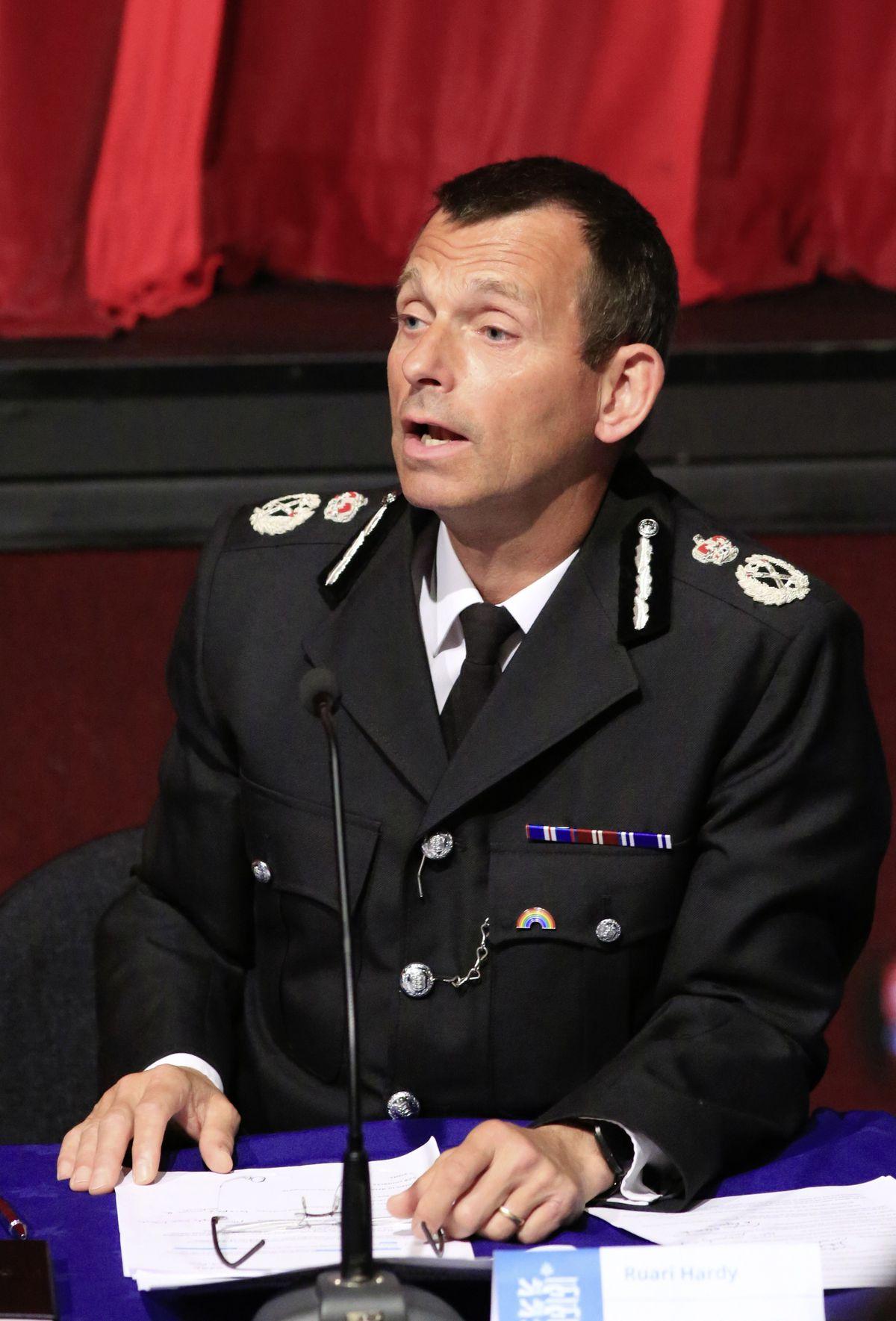 Head of Law Enforcement Ruari Hardy. (28359305)