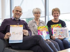 The Decider Skills for self-help, left to right, non-executive director Marc Laine, CBT nurses Carol Vivyan and Michelle Ayres. (Picture by Sophie Rabey, 28437284)