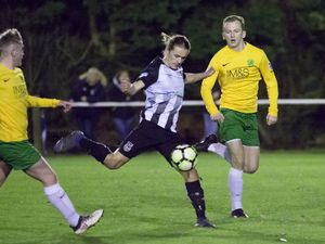 Pic by Adrian Miller 02-10-20 BPL Priaulx League Football - St Martin's v Vale Rec. (28757803)