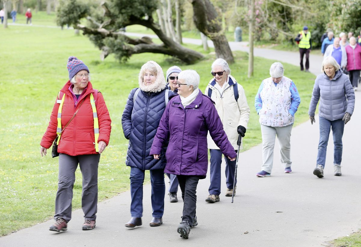 Saumarez Park was the venue for the first meeing of the Walking for Health group after lockdown. (Pictures by Adrian Miller, 29411046)