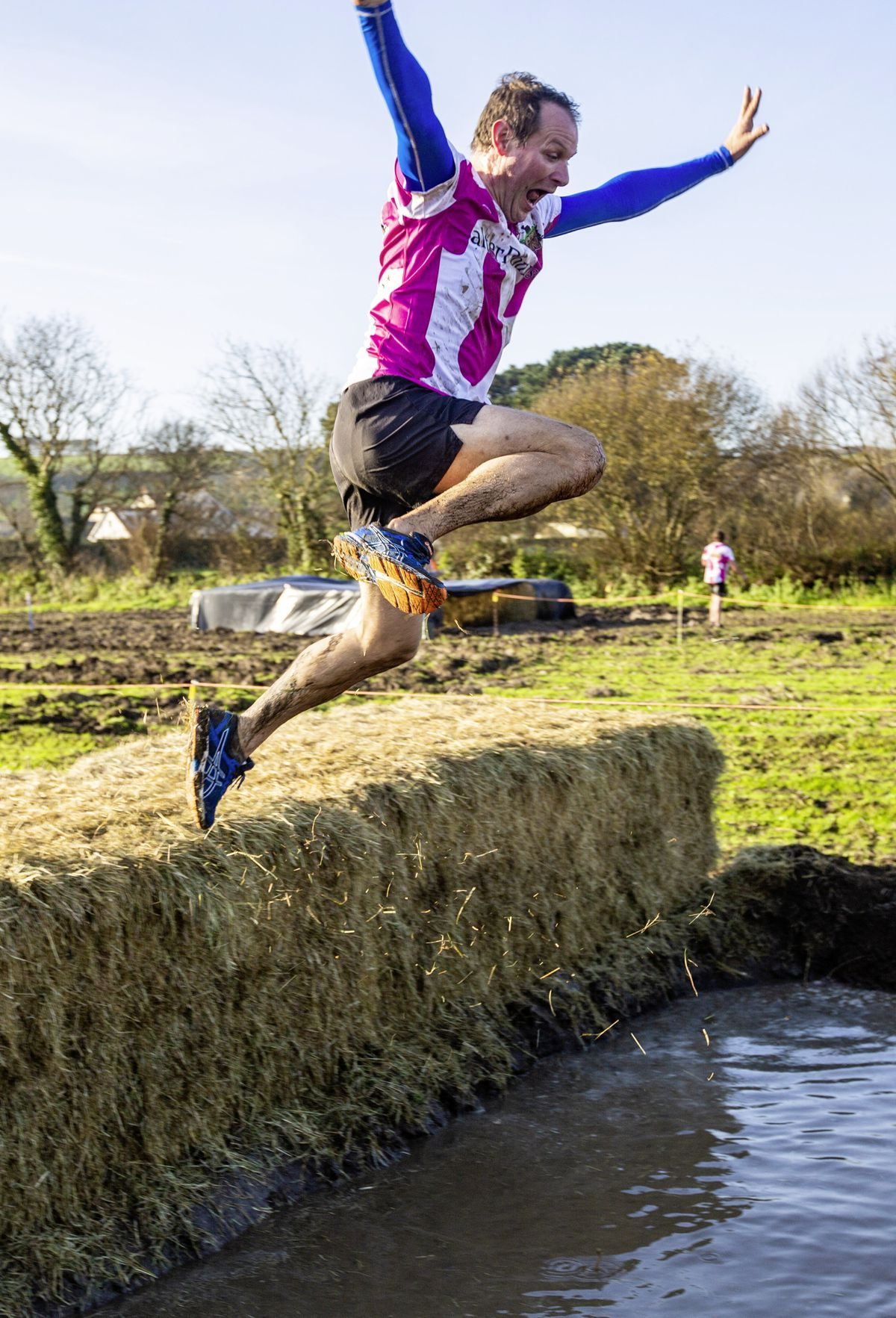 Picture by Sophie Rabey.  29-11-20. Muddy Cow Fun Run Vazon/Grande Mare. (28963044)
