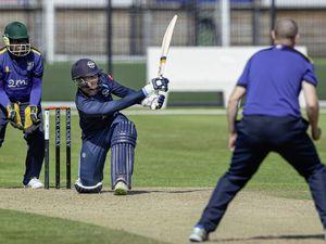 Guernsey Cricket.GCA Cup 50ov.Wanderers Irregulars v Cobo CC.Josh Butler.www.guernseysportphotography.com. (28458678)