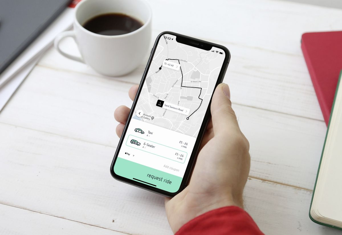 A Jersey-based firm is looking to launch an uber-like taxi app in Guernsey called goto. Picture supplied by goto. (26907093)