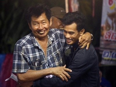 Boys and coach in stable health after 10 days lost in Thai cave