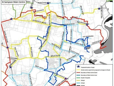 25mph limit to be extended to many major roads