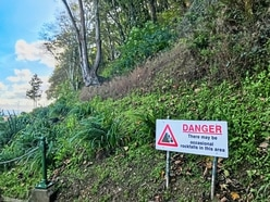 Danger of falling rocks to lead to Vallette path closure