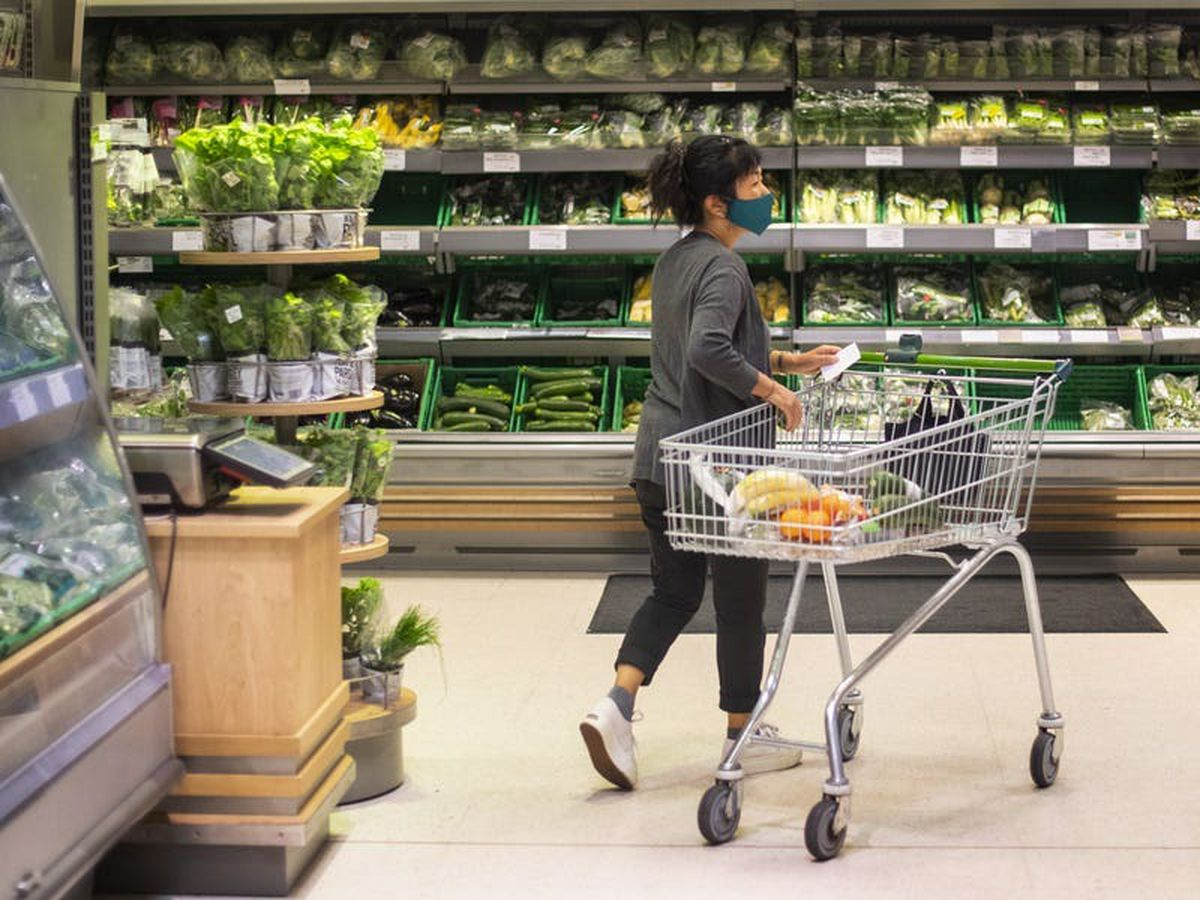 Supermarket sales continue to fall as cafes take bigger slice of spending