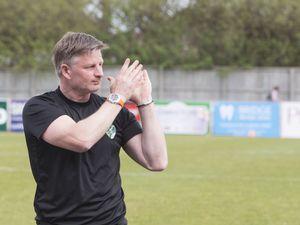 Pic by Adrian Miller 22-04-19      .Footes Lane football.GFC v Horsham.Last home game this season.Tony Vance. (28676510)