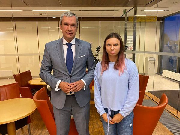 Belarus sprinter who feared reprisals at home reaches Poland
