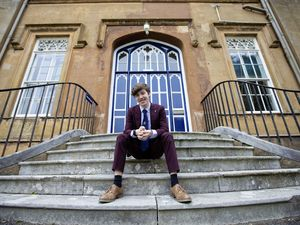 Picture By Peter Frankland. 03-06-21 Elizabeth College student George Shuter is off to a prestigeous drama college in Scotland.. (29617941)