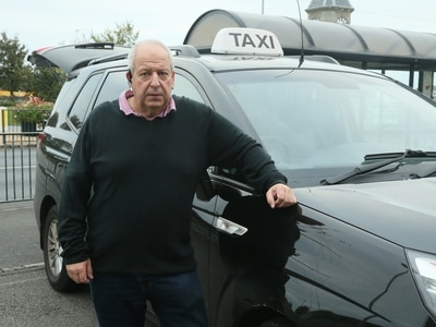 Taxi drivers find passengers are few and far between