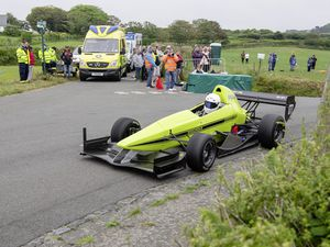 Pic supplied by Andrew Le Poidevin: 19-06-2021...Guernsey Kart & Motor Club Reservoir Hill Climb. Steve Brehaut was on top form and has mastered his new Resolution IT Empire Evo.. (29675787)