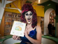 Drag queen story returns to library by popular demand