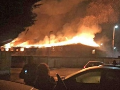 Staff and residents evacuated as fire engulfs hotel on Welsh border