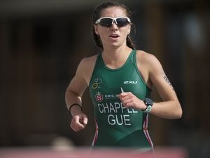 Picture By Peter Frankland. 07-07-19 Gibraltar Island Games 2019. IG 2019. Sport. Triathlon. Megan Chapple. (29879043)