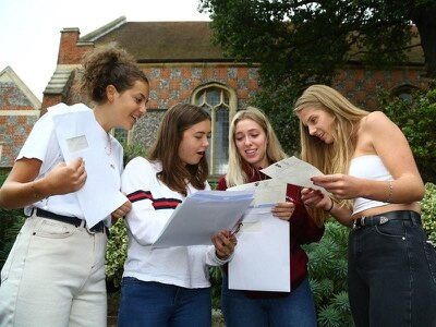Proportion of A-levels awarded A or A* reaches six-year high