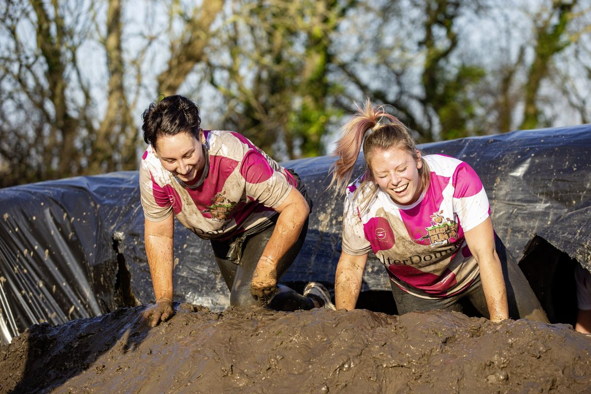 Picture by Sophie Rabey.  29-11-20. Muddy Cow Fun Run Vazon/Grande Mare. (28963024)