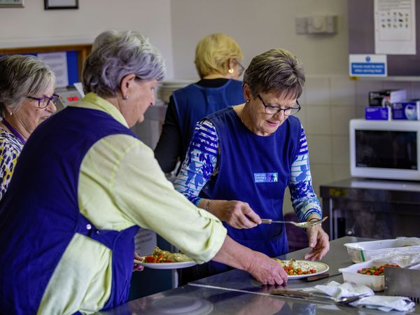 Picture by Sophie Rabey.  28-04-21.  Guernsey Voluntary Service, The Jubilee Day Centre at Grandes Maisons Road, St. Sampson.  Feature for Ads.  Clients, Staff, Volunteers and Activities that take place on the Centre, including lunchtime.. (29495349)
