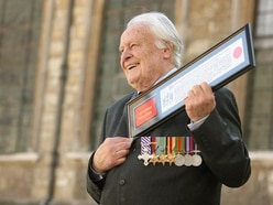 Tributes paid to Battle of Britain Spitfire pilot
