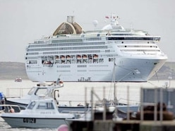 Cruise ship emissions are in pollution data
