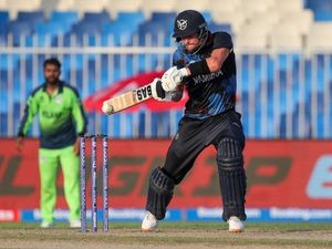 Gerhard Erasmus ends Ireland T20 World Cup hopes as Namibia reach Super 12 stage