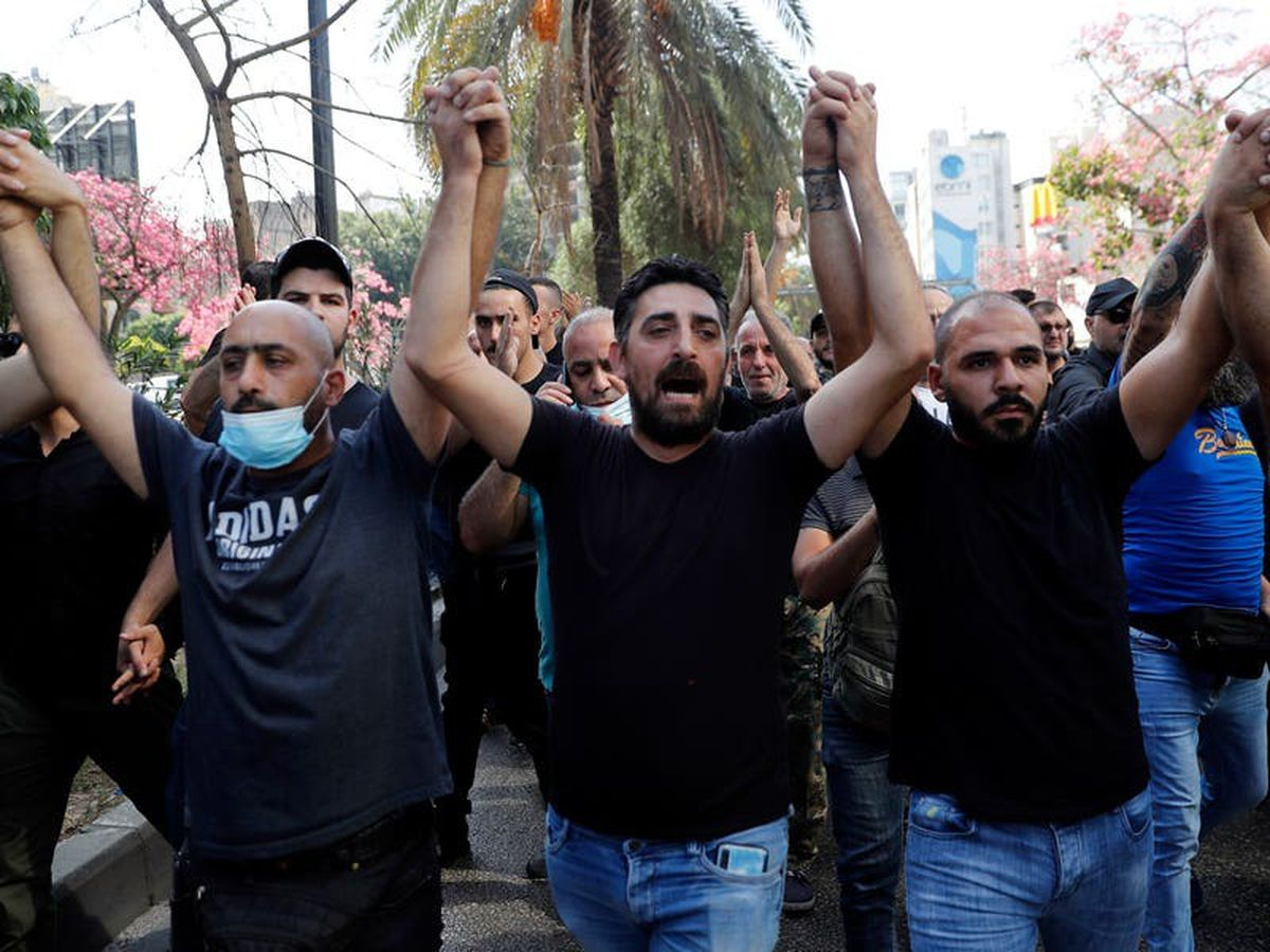 Armed clash erupts in Beirut in protest against judge in blast inquiry