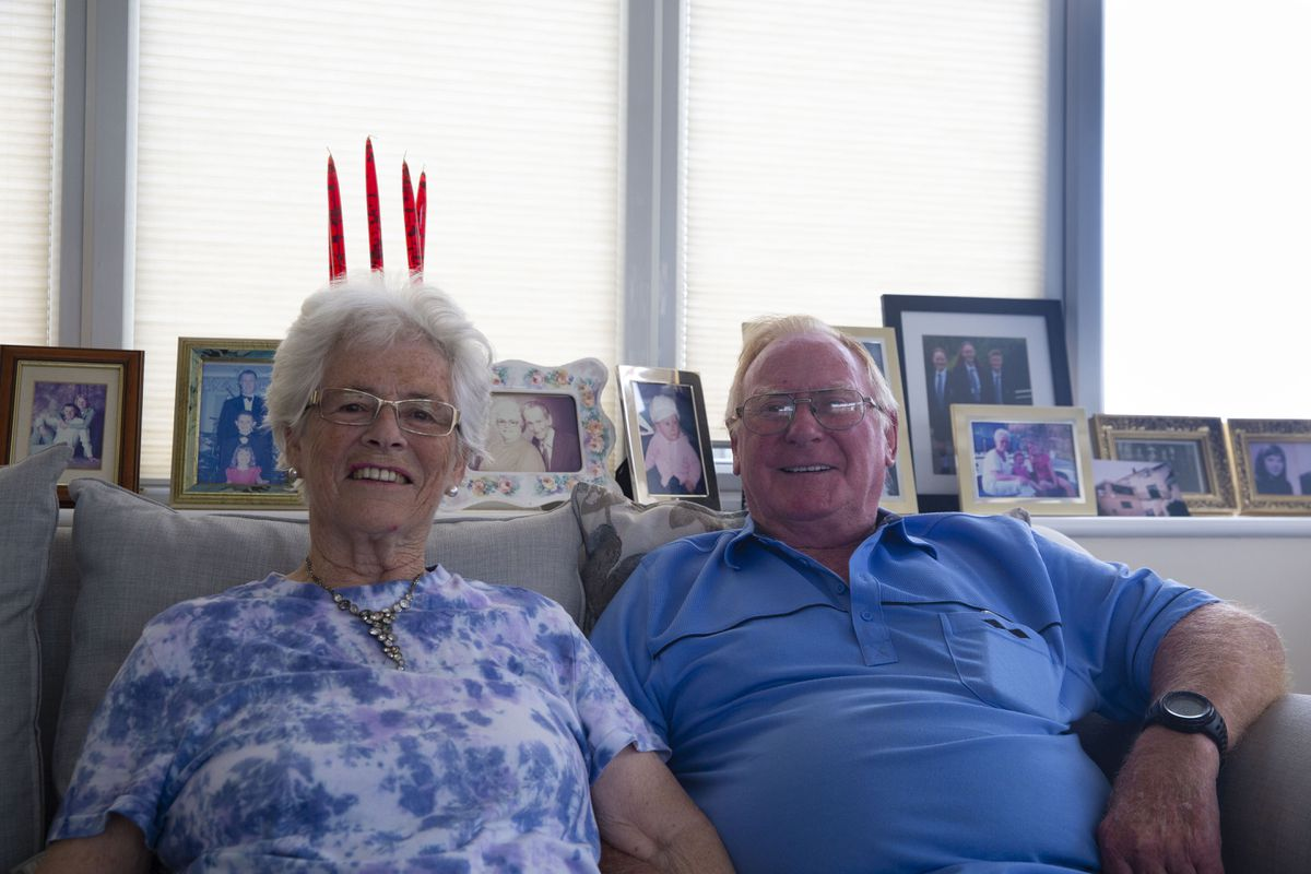 Leona and Rex Trott are celebrating their 60th wedding anniversary. (Picture by Cassidy Jones, 29958672)