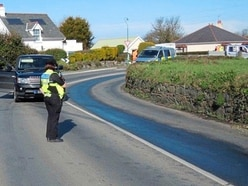 Capelles roads closed for hours after oil spill