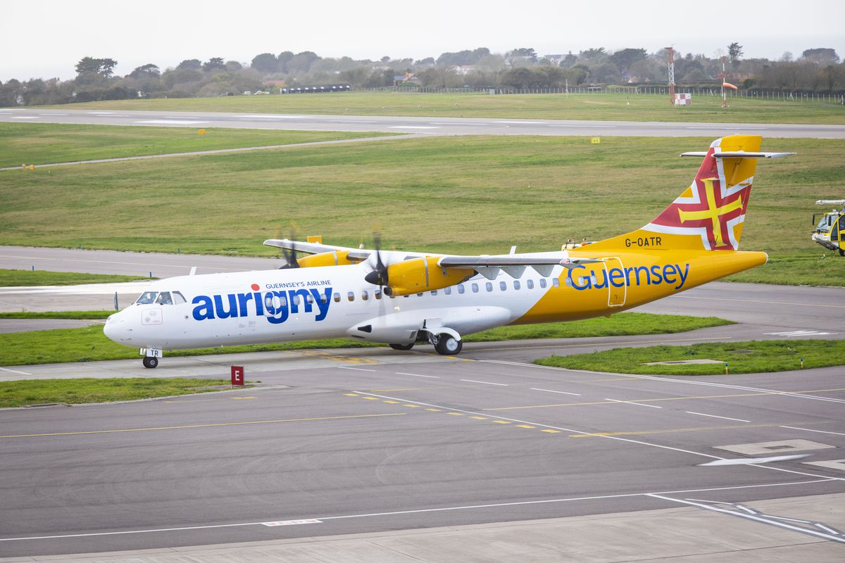 Aurigny will operate only one rotation a day to both Gatwick and Southampton until the end of May. (Picture by Sophie Rabey, 27703171)