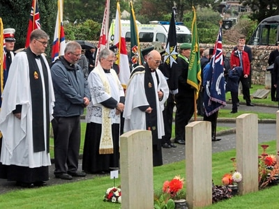 Service remembers loss of 504 wartime sailors
