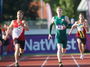 NatWest Island Games 2015. Athletics. 400m final. Picture: JON GUEGAN. (26948175)