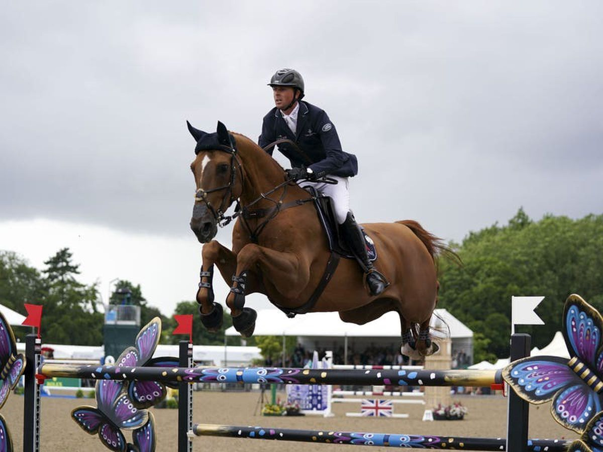 Showjumper Ben Maher targets gold medal on a horse he feels 'can do anything'