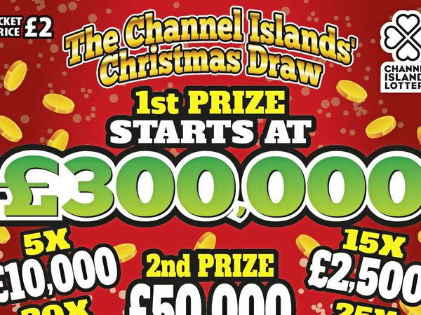 Christmas lottery tickets go on sale tomorrow with the price back to £2, but all 1.5m. will have to be sold for someone to be a millionaire.