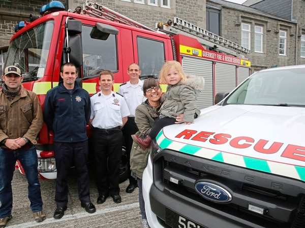 Fire service raises over £6,000 for charities