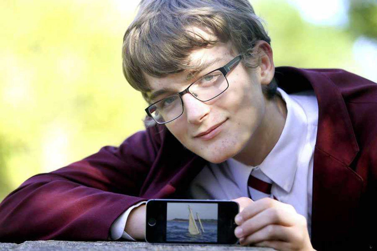 Tom, 16, tells of his part in saving sailor
