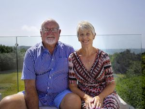 Picture By Cassidy Jones. 09-08-21 Keith and Kathleen Marshall, Parent of the year Pride Award.. (29853721)
