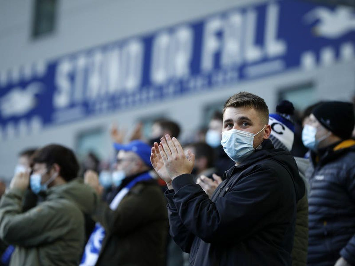 Away fans not allowed to attend final two rounds of Premier League matches