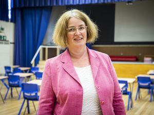 Principal of St Sampson's High School Vicky Godley. (Picture by Sophie Rabey, 29156521)