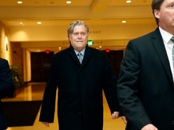 Steve Bannon 'refuses to answer questions' about working for Donald Trump