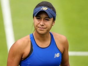 Guernsey's Heather Watson lost in the first round of the 2020 French Open. (28744513)