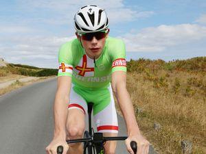 Pic by Adrian Miller 17-07-18         .Pride awards 2018.Cyclist Sam Culverwell. (24545350)