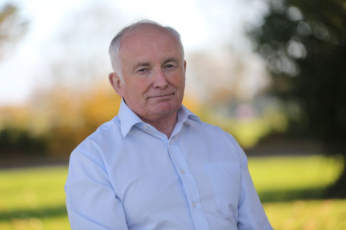 Guernsey Commonwealth Games Association chief David Harry. (Picture by Peter Frankland, 29835240)