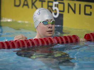 Picture By Peter Frankland. 09-03-19 Swimmimg at St Sampson's High. GASA 50m Sprint Gala. Tatiana Tostevin. (24254455)